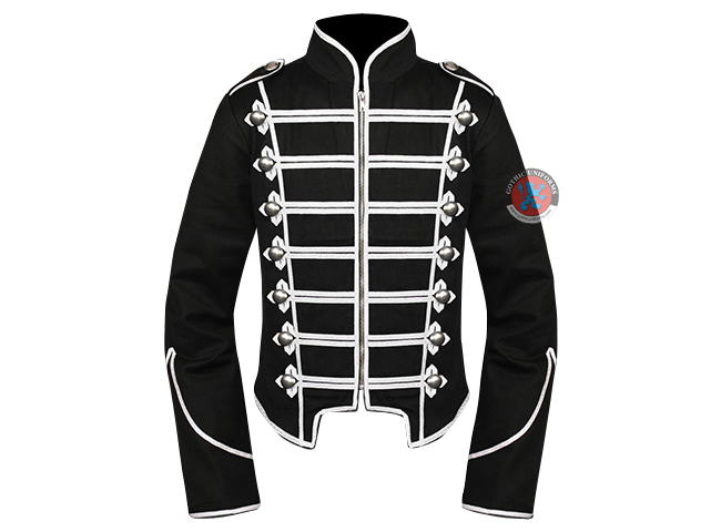 ADAM ANT Hussar Fashion Jacket LARGE Steampunk  Goth. Military Brocaded coat