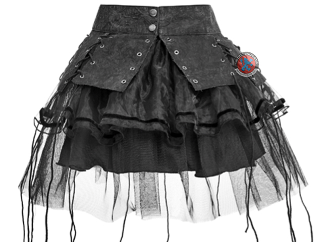 Bandage Two-pieces Punk Pettiskirt spiky dress