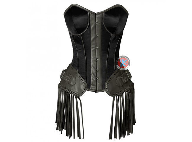 Black Ladies Gothic Corset
