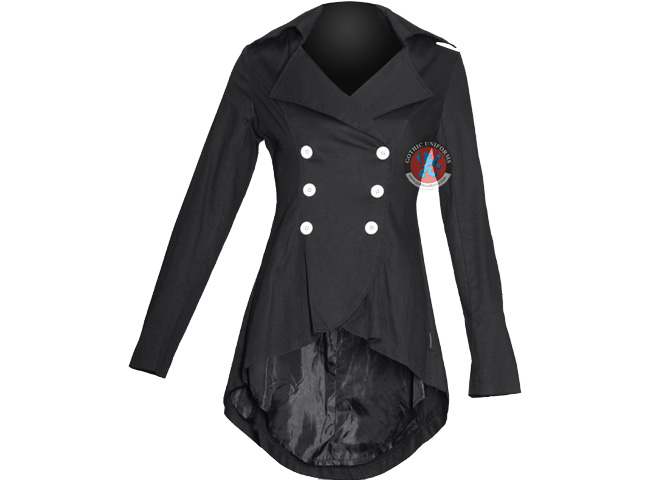 Candy  Shadows Double breasted gothic jacket