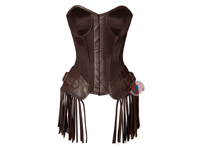 Dark Brown Corsets For Ladies