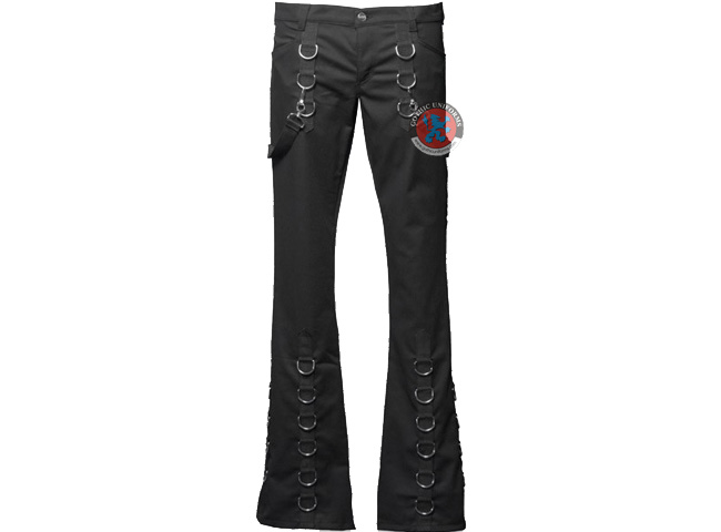 Dark Dead Skin Gothic Womens pants
