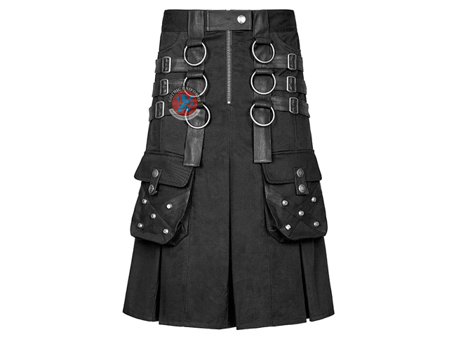 Dark Series Metal Warrior Kilts Style Skirts