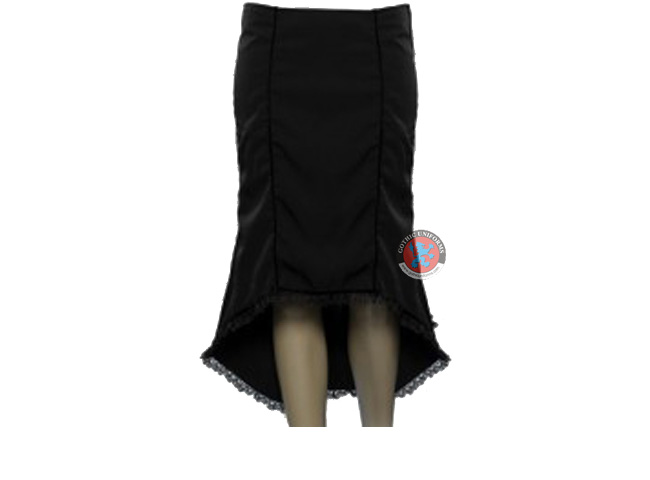 Eternal Dusk Tight fitting gothic tube skirt