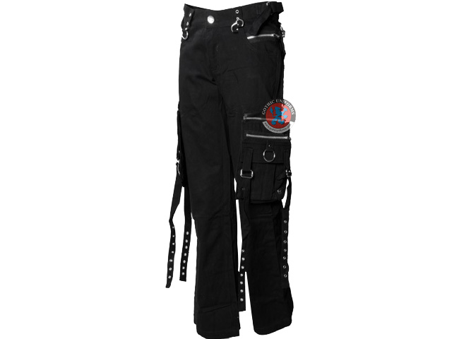 Foreboding Black gothic pants by Queen of Darkness