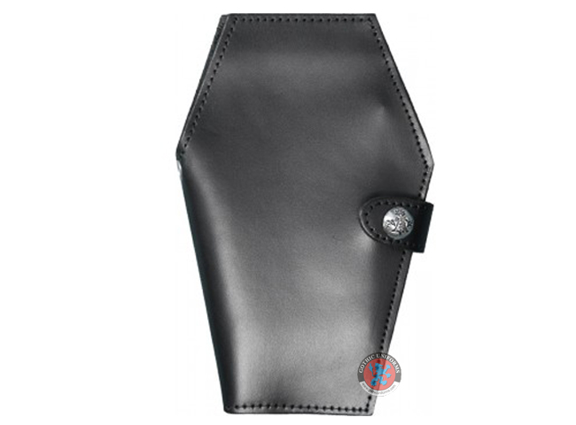 Genuine Leather Coffin Wallet By Alchemy Gothic