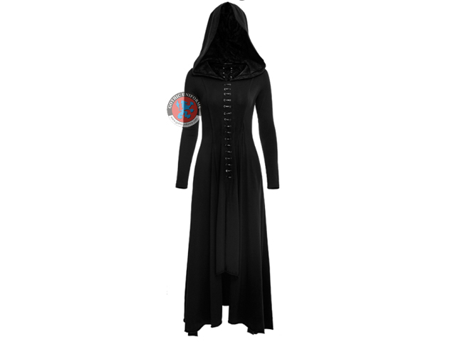 Gothic Knit Long Dress