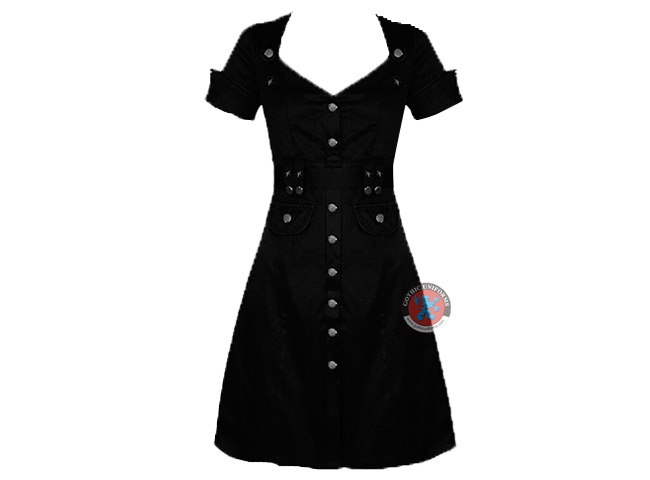 JAWBREAKER MILITARY PINUP DRESS