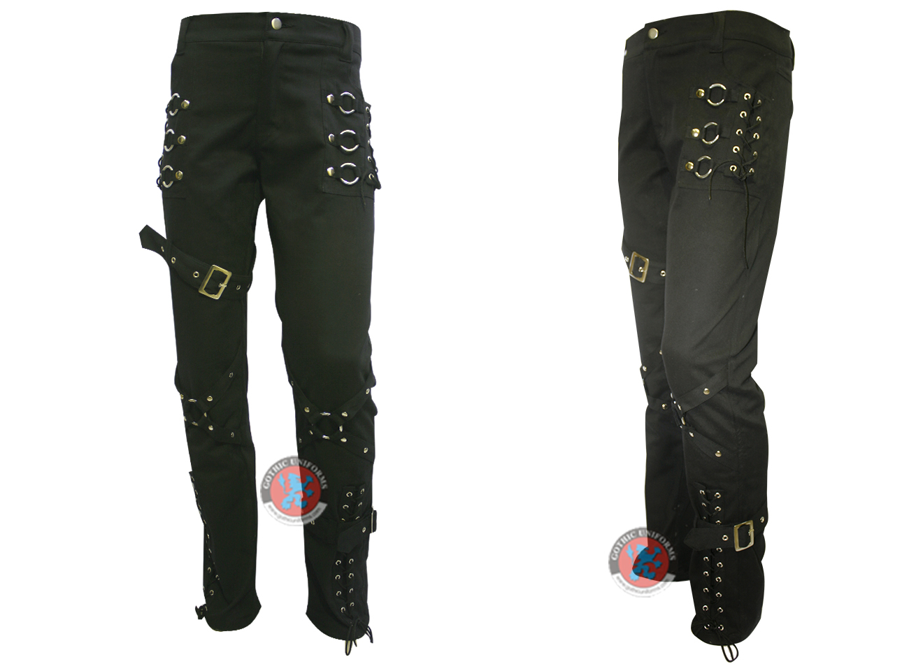Black Color Cotton Ladies Trouser