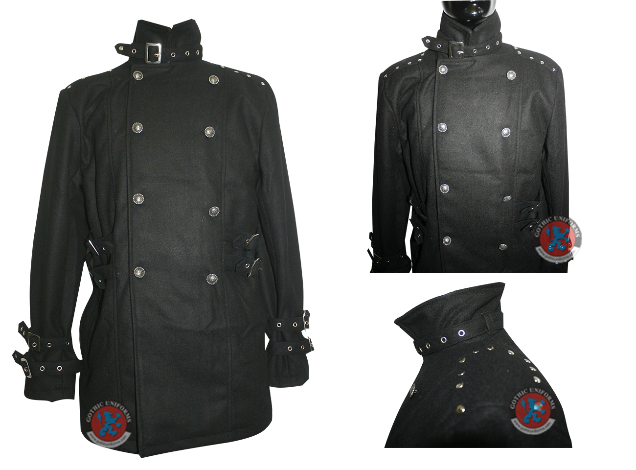 Black Color 100% cotton Gents Jacket