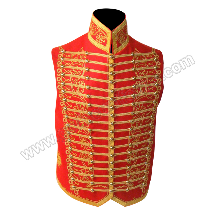 Gothic Military Waistcoat for light cavalry senior officer