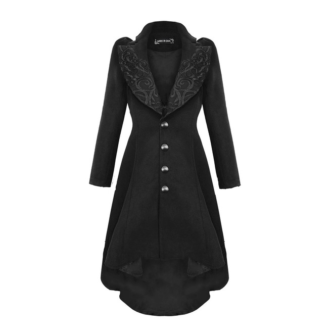 Jw100 Gothic Lady Warn Double Faced Woolen