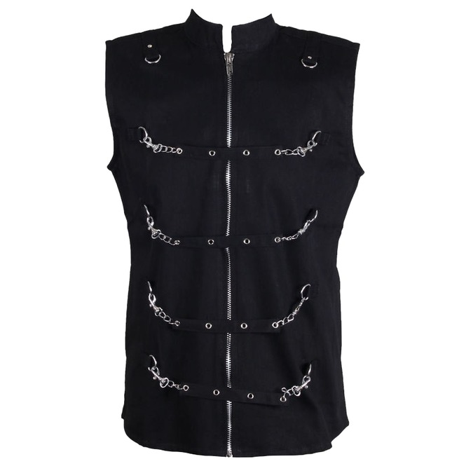 Men Gothic Dead Thread Vest