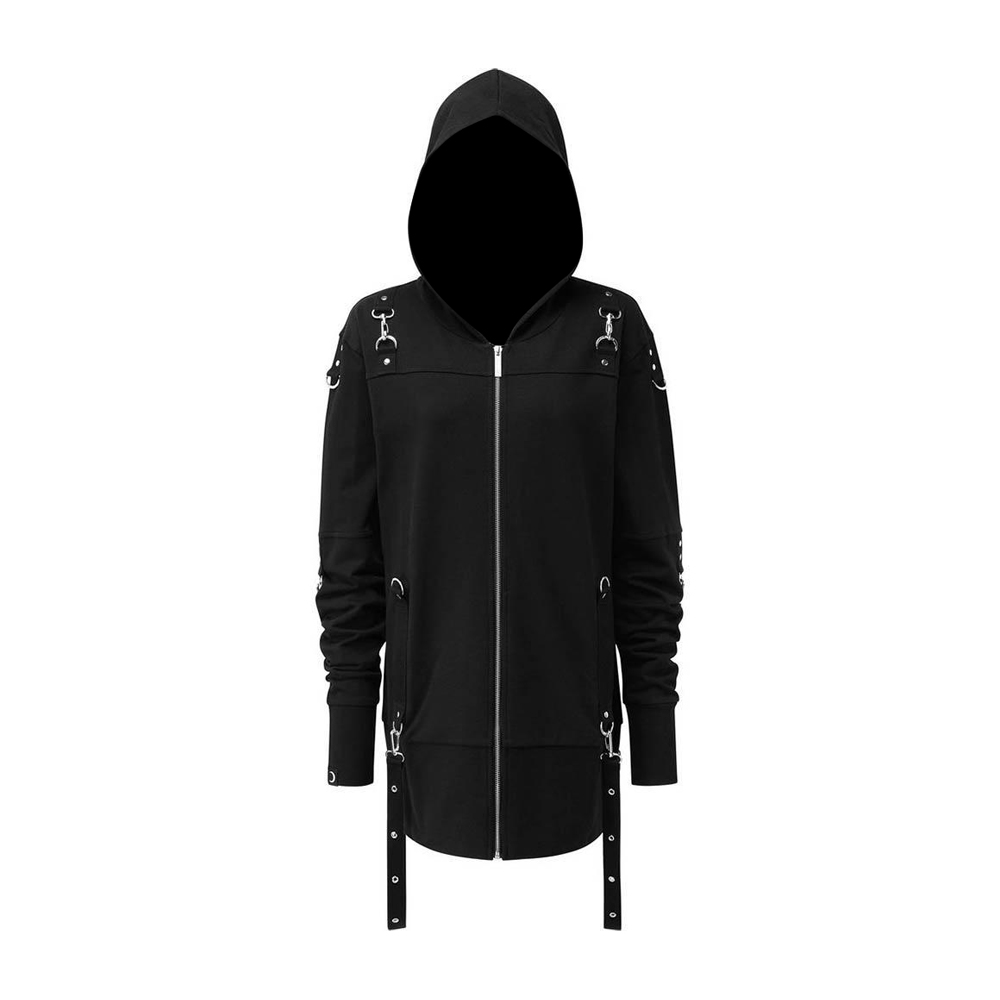 Gothic Men Twisted Hood