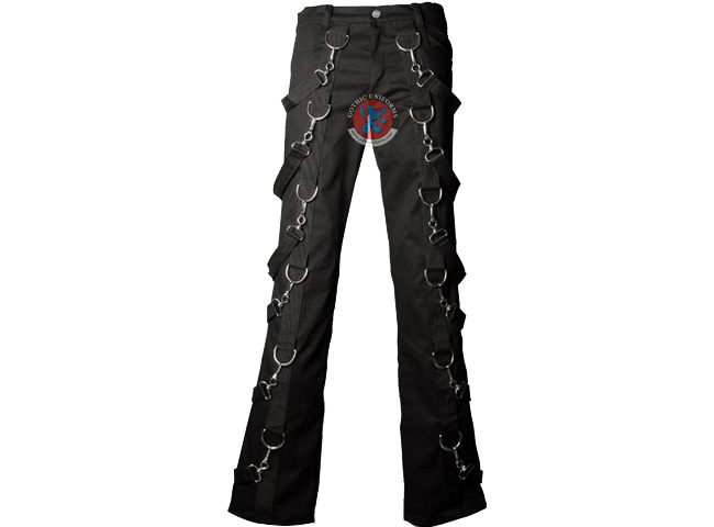 Lockbox Gothic bondage pants