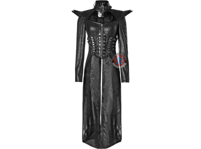 Punk Queen Long Rider Coat