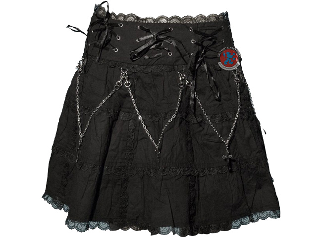 Razor Candy Short gothic skirt