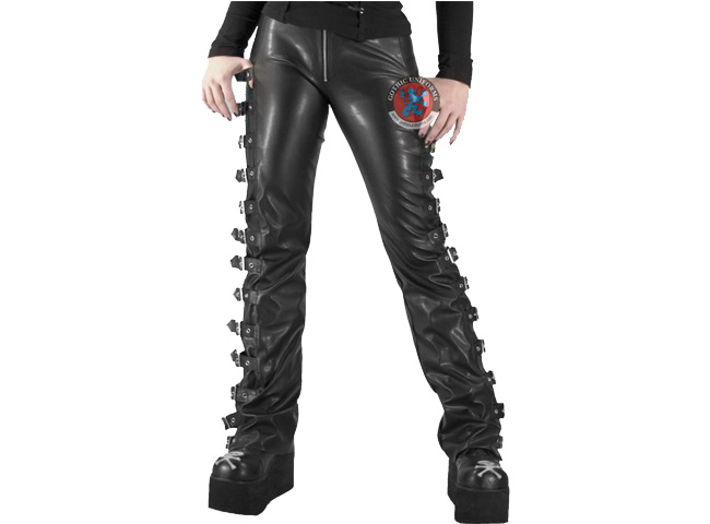 Razor Cut Women PVC pants by Hard Leather Stuff
