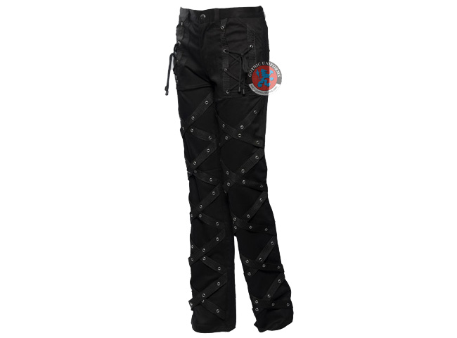 Resurgence Black gothic pants