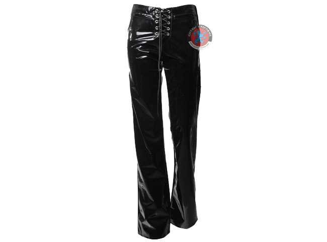 Tumbled Toy 80s style PVC goth pants